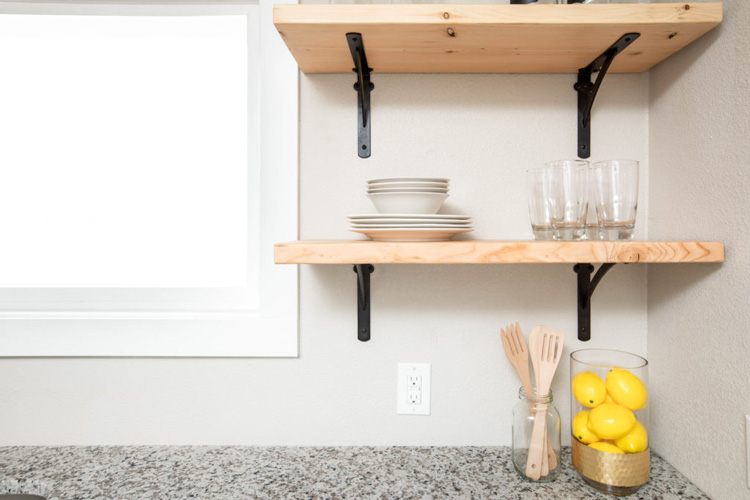 diy floating shelves guide and ideas kitchen