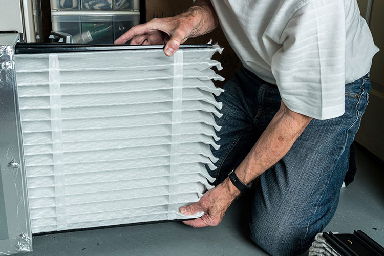 how often change furnace filter replacement