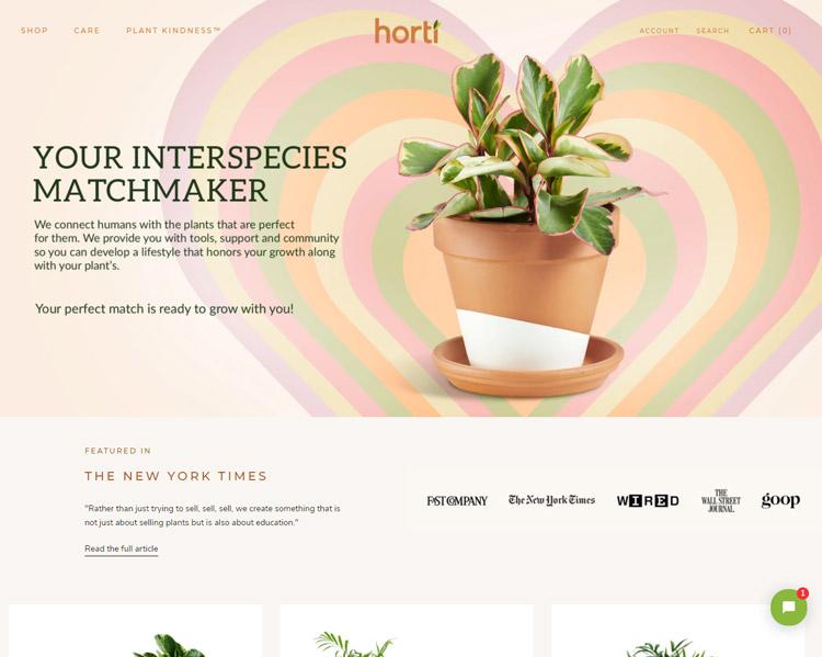 places buy plants online horti