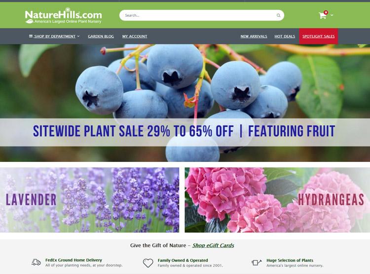 places buy plants online natural hills