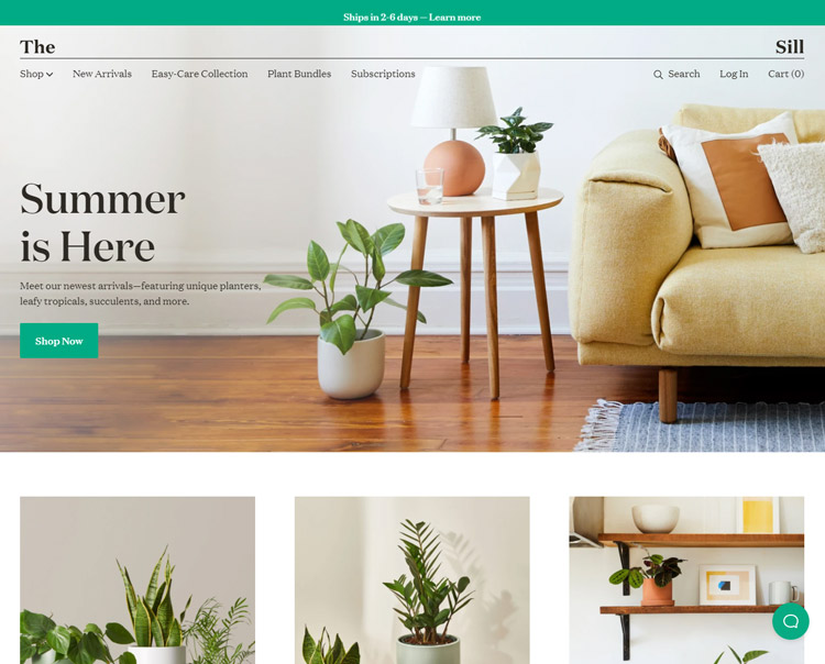 places buy plants online the sill