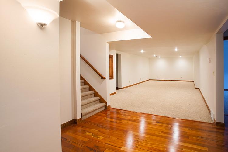 unfinished basement design ideas featured image