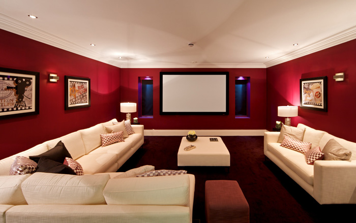 unfinished basement design ideas movie theater in basement